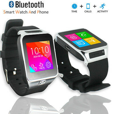 Multimedia Smartphone - Unlocked! GSM Multimedia Wireless Bluetooth Watch Phone MP3 Spy Camera FM Radio