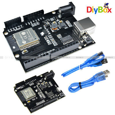Esp32 4mb Flash Wifi Development Boardbluetoothuno D1 R32 Ch340 Usb Shield