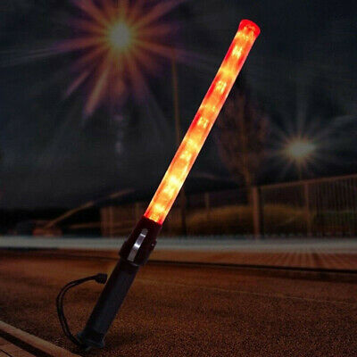 Signal Warning Led Light Road Police Traffic Wand Baton Night Glow Control Stick