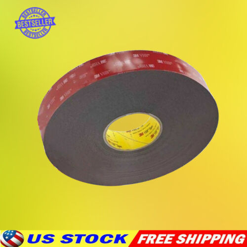 """3m 1/2"""" X 9/15/21/108 Vhb Double Sided Foam Adhesive Tape 5952 Gopro Cam Parts"""