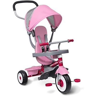 Radio Flyer RideOn Toys 4-in-1 Stroll 'N Trike Pink (New - 261.98 USD)