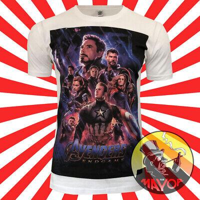 gers Endgame Inspired Mens Womens Unisex Organic T-Shirt  (Womens Avengers T-shirts)