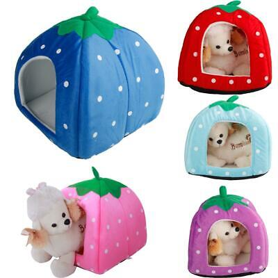Small Medium Large Pet Dog Cat Bed House Cave Kennel Pad Cus