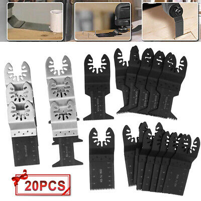 20pack Multi Tool Oscillating Saw Blades For Fein Multimaster Makita Bosch Fast