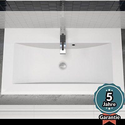 Design Einbau-Waschbecken Waschtisch - 80CM - Einlass-Waschbecken