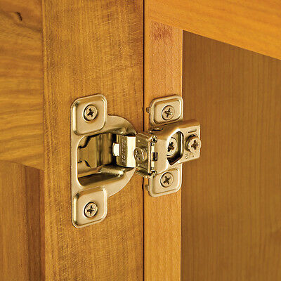 "Salice® Excen-Three Hinges, 106 Degree Opening, 1/2"" Overlay"