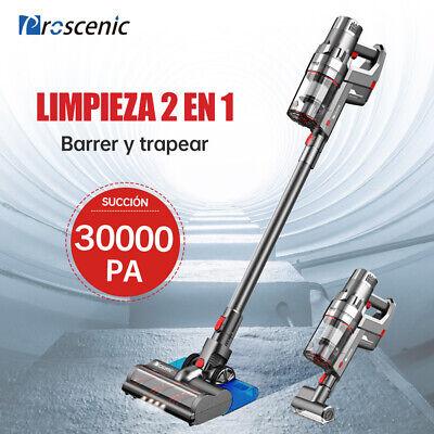 Proscenic P11 Aspirador y Fregasuelos Sin Cable Pelo Animales Escoba Eléctrica