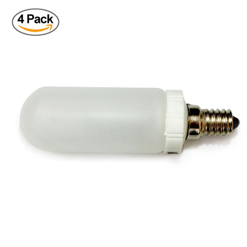 4 PCS JDD Type 150 watt 120V E14 Frosted Halogen Light Replacement Modeling Bulb
