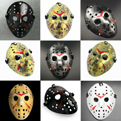 Halloween Vs Friday 13th (Friday the 13th Freddy VS. Jason Voorhees Hockey Scary Mask Halloween)