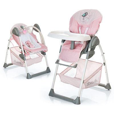 Hochstuhl & Babyliege ab Geburt - Hauck Sit'n Relax - Birdie