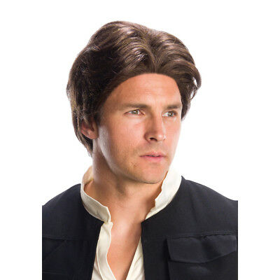 Han Solo Wig (Mens Brown Han Solo Costume)