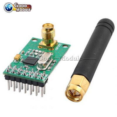 Nrf905ptr8000 Wireless Transceiver Module Transmissionantenna 433868915mhz