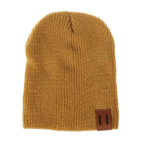Winter Warm MomNewborn Kids Boys Girls Knited Woolen Headgear Beanie Cap Hat UK