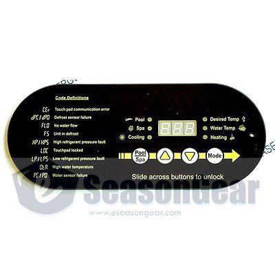 AquaCal STA0062 Heat Pump Display Control Panel Replacement, LBP0049, Aqua - Aquacal Heat
