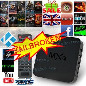 New MXQ Quad Core Android 4.4 TV Box Fully Loaded KODI (XBMC) Free Sports Movies