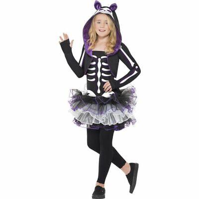 Smi - Halloween Kinder Kostüm Skelett Katze