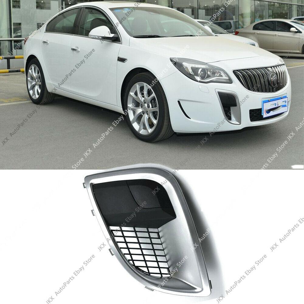 LH Driving Side Fog Light Cover Mesh Grille Bezel o For Buick Regal GS 2009-2017