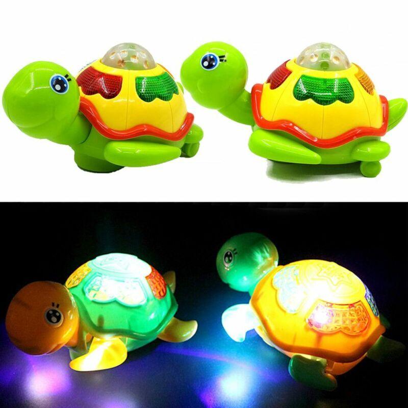 Color Random Schildkröte Musikalische Schildkröte Leuchtspielzeug