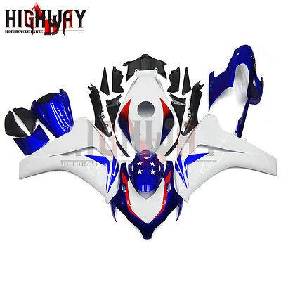 Motorcycle Fairing Bodywork Panel Kit Set Fit for Honda CBR1000RR 2008-2011 blue