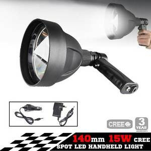 15W CREE LED Handheld Spot Light Rechargeable Spotlight Hunting S Melbourne CBD Melbourne City Preview