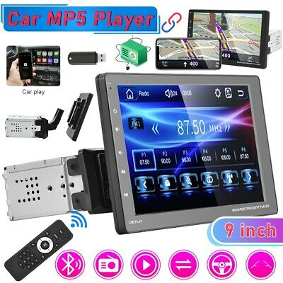 """9"""" Car Radio Apple/Android Carplay Bluetooth Car Stereo Touch Screen Single 1Din"""