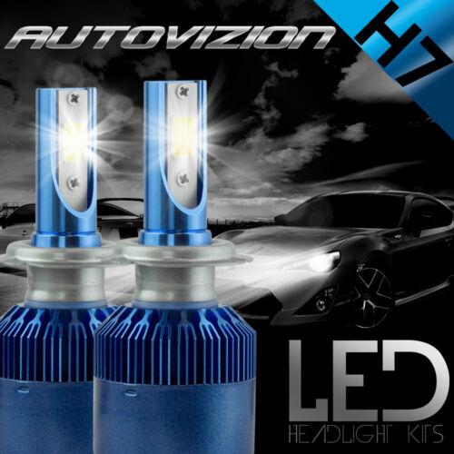 AUTOVIZION LED HID Headlight kit H7 White for Mercedes-Benz CLK320 1998-2005