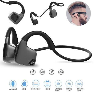 Bone Conduction R9 Stereo Bluetooth 5.0 Music Sport Wireless Open ear Headphone