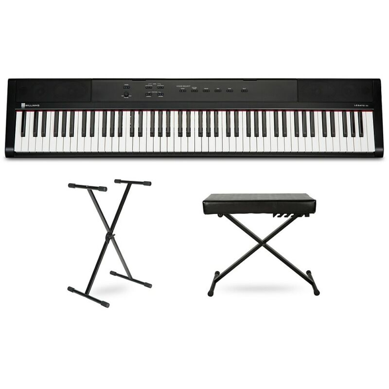 Williams Legato III Keyboard with Stand and Bench
