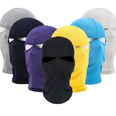 Us Stock Outdoor Unisex Cycling Lycra Sun Uv Protection Balaclava Full Face Mask
