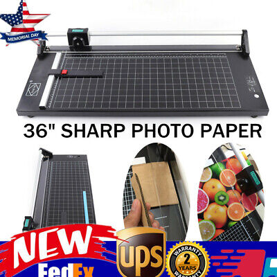 36 Manual Precision Rotary Paper Trimmer Sharp Photo Paper Cutter 120 33cm