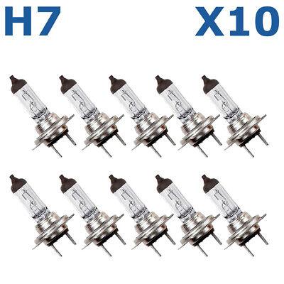 10x H7 Bulbs 12v 55w Headlamp Headlight Car Bulbs 477 499 2-Pin