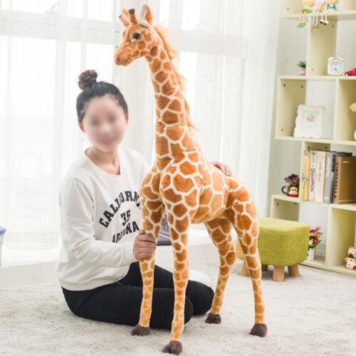 60CM Plush Giraffe Doll Large Stuffed Animals Soft Toys Gift