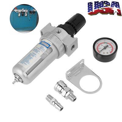 14 Air Pressure Regulator Water Separator Trap Filter Airbrush Compressor Us