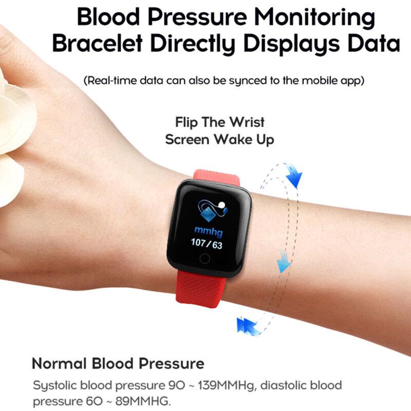 Fitness Activity Watch Band Heart Oxygen Blood
