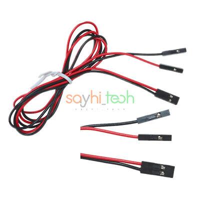 70cm 2pin Cable Set Female To Female Jumper Wire For Arduino 3d Printer Reprap