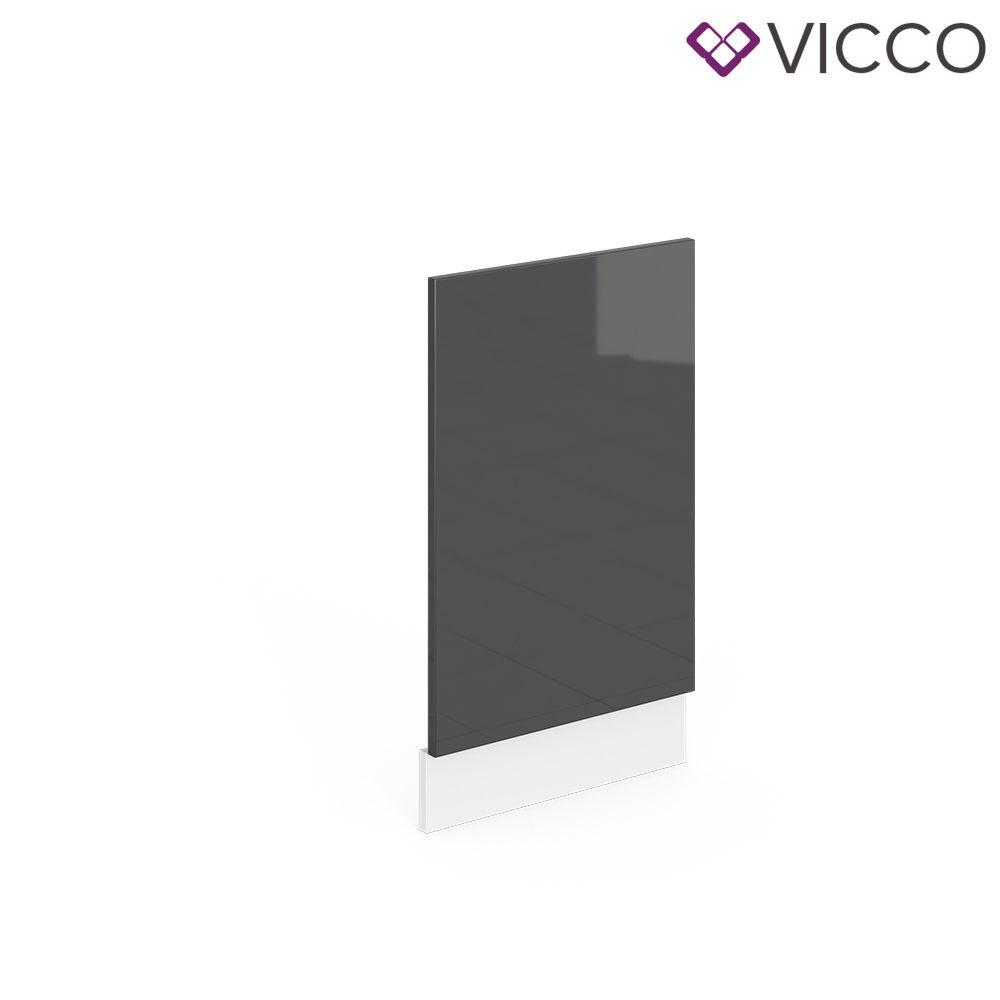 VICCO Küchenschrank Hängeschrank Unterschrank Küchenzeile R-Line Geschirrspülerblende 45 cm anthrazit