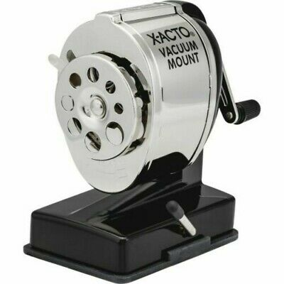 New X-acto Manual Pencil Sharpener Ks Vacuum Mount 8 Different Pencil Sizes