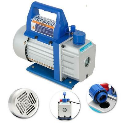 3cfm 14hp Rotary Vane Vacuum Pump Deep Hvac R134a Air Refrigerant Conditioning