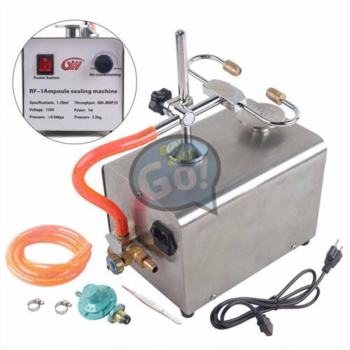 Type Ampoule Melting Ampoule Sealing Machine for Lab Double Flame Seal RF-1