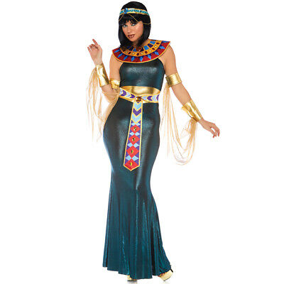 Womens Nile Goddess Egyptian Cleopatra Costume - Egyptian Costume Female