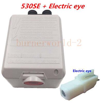 Oil Burner Riello Control Box 530se Electric Eye For 40g Oil Burner G3 G10 G2
