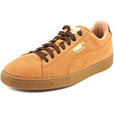Puma Suede Classic Casual Emboss Round Toe Suede Sneakers