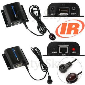 1080P IR HDMI Extender Sender Repeater Over 60m RJ45 Network LAN Cat6 Cat7 HDCP