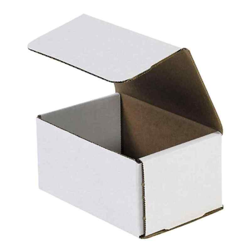 The Packaging Wholesalers 6 x 4 x 3 Corrugated Mailers, 50/Bundle (M64 BSM643