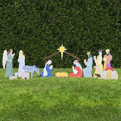 Outdoor Nativity Store Complete Outdoor Nativity Set (Color) (Nativity Outdoor Sets)