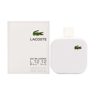 Eau de Lacoste L12.12 Blanc by Lacoste for Men 5.9 oz EDT Spray Brand New