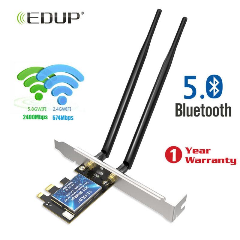 3000Mbps Intel AX200 WiFi 6 802.11 ax PCI-E Wireless  Adapter Card Bluetooth 5.0