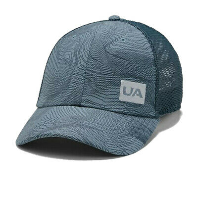 Under Armour Mens Blitzing 3.0 Trucker Cap Blue Sports Running Breathable