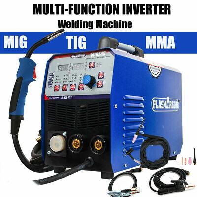 200amp Migmagfluxlift Tigmma 5 In 1 Dc Inverter Welder Machine Gas Gasless