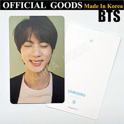 BTS JIN Galaxy S20 Photocard Limited Edition OFFICIAL GOODS Bangtan Boys KPOP